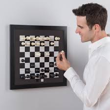 the magnetic chess board hammacher schlemmer