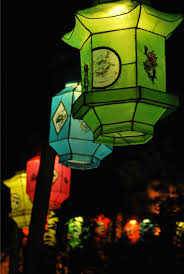 chinese lanterns at montreal botanical gardens of light