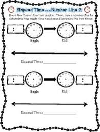 elapsed time printables elapsed time common cores and worksheets