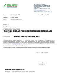 contoh surat pernyataan format a1 10 contoh surat permohonan paling lengkap beserta cara membuatnya
