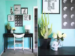 Lime Green And Turquoise Bedroom Create An Eye Catching Gallery Wall