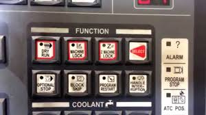 fanuc i series control panel cnc machine youtube