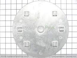 Simmer Plate For Gas Cooktop Whirlpool Wp4455109 Simmer Plate Appliancepartspros Com