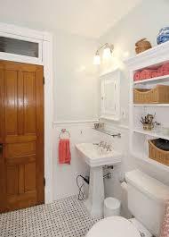 Shelf For Pedestal Sink Small Bathroom Ideas Vanity Storage U0026 Layout Designs