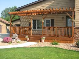 Patio Attached To The House Pergola Design Magnificent Pergola Attached To House Ideas