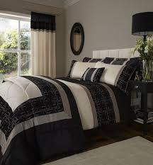 Catherine Lansfield Duvet Covers Catherine Lansfield Geo Embellished Double Bed Duvet Cover Set