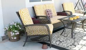 Yellow Patio Furniture  Interiors Design - Yellow patio furniture