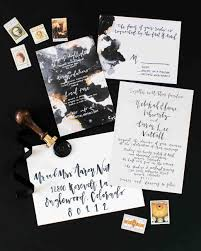 black and ivory wedding invitations 74 modern wedding invitations martha stewart weddings