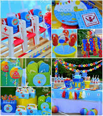 pool party ideas southern blue celebrations pool party ideas