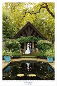 akron wedding venues wedding portrait in the garden at stan hywet