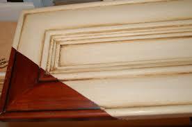 Glazed Kitchen Cabinet Doors Great Method To Cream Glazed Kitchen Cabinets U2026 Fabulously Finished