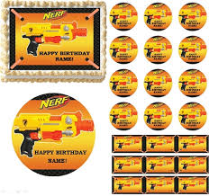wars edible image gun wars edible birthday cake cupcake toppers party decorations