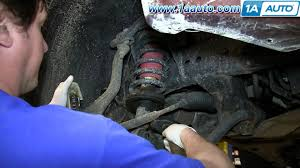 nissan pathfinder xe 2006 how to install replac front struts 2004 14 nissan titan armada