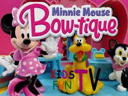minnie s bowtique disney toys minnie mouse pet bow tique toys playset