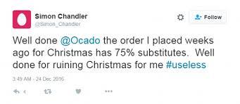 christmas dinner order online well done for ruining christmas customers slam online
