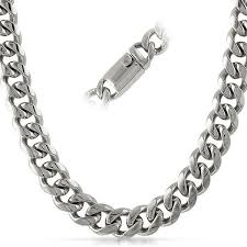 stainless steel necklace clasp images Miami cuban 13mm stainless steel chain box clasp hiphopbling jpg