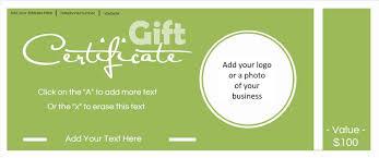 halloween gift certificate template free sample resume format