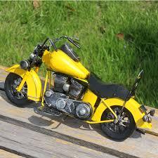 handmade iron harley motorcycle model metal motor ornaments
