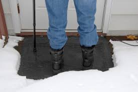 Heated Bathroom Rug by New Heated Snow And Ice Removal Mats Provide Safe Outdoor Footing