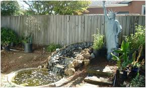 backyards cozy fountain for backyard fountain backyard small
