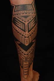 geometric leg tattoos design ideas for and