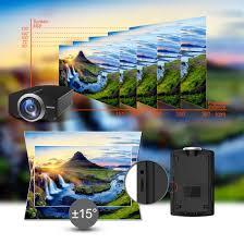 amazon com projector goodee mini portable projector 1800