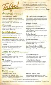 Olive Garden Family Of Restaurants Lunch Menu For Olive Garden Restaurant Best Idea Garden