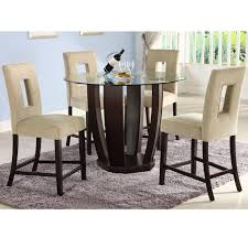 glass counter height table sets caruaru counter height dining sets chair upholstery dining room