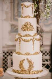 wedding cake gold 16 gold wedding cake designs for modern and glamorous events
