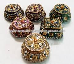 decorative gift boxes trinket boxes pill boxes from india