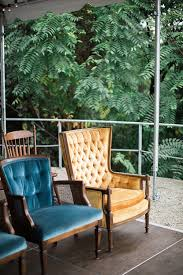 Mid Century Modern Furniture Virginia by Modern And Chic Wedding At The Rice House In Richmond Paisley