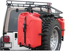 jeep wrangler military style garvin industries can holder accessory will allow you to attach a