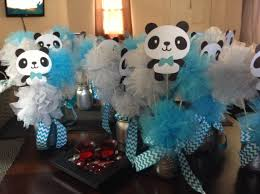 Baby Shower Centerpieces For A Boy by Panda Baby Shower Centerpieces Babyshower Boy Pinterest