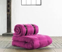 fresh futon buckle up u2013 a mattress that rolls up into a comfy chair