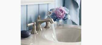 Kohler Widespread Bathroom Faucet by Standard Plumbing Supply Product Kohler K 10577 4 Cp Bancroft