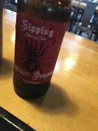 pretty alcoholic drinks found this at a local restaurant spider venom cherry cola it u0027s