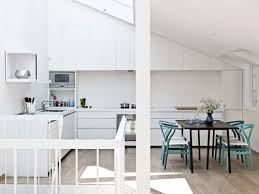 cuisine toute atmospheres une cuisine toute blanche ou presque