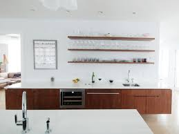 brown white kitchen ideas brown kitchen cabinet floating shelves