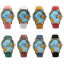World Map Watch Compare Prices On Women Watch Bands Online Shopping Buy Low Price