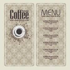 coffee shop menu template free coffee shop menu design and layout templates to