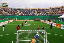 Paralympics Blind Football Paralympics Silence For Brazil Crowd At Blind Soccer Struggles
