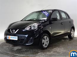 nissan hatchback used or nearly new nissan micra 1 2 visia 5dr black for sale in