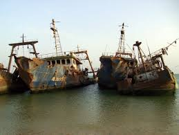 largest ship graveyard in the world nouadhibou mauritania