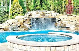 diy pool waterfall diy pool waterfall natural rock waterfalls for pools rock