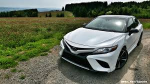 for toyota 2018 toyota camry drive potent family sedan shrugs suv