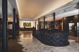 Hotel Lobby Reception Desk by Hotel Vandivort Springfield Mo