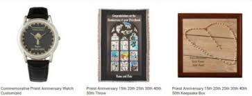 15th anniversary gift ideas gift ideas for priests birthday ordination anniversary