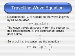 5 travelling wave equation