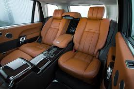 range rover truck interior range rover autobiography edition celebrates 21 years