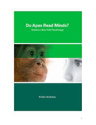 do apes read minds toward a new folk psychology pdf download